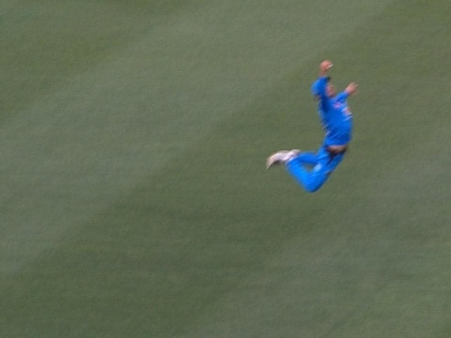 Commentators lose it over little man's insane Big Bash catch