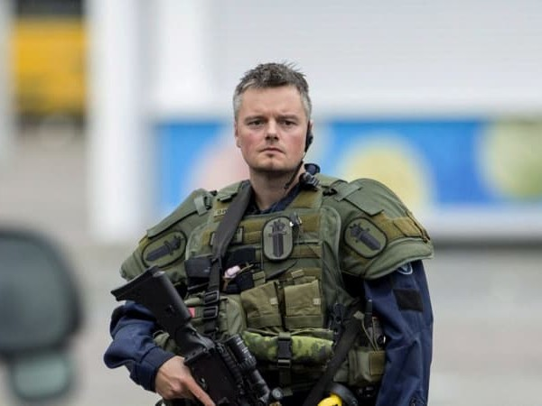 Two charged after large police raid in strategic area of Finland