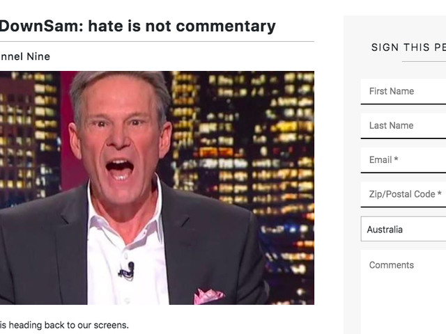Nine thanks 'master at live television' Sam Newman who continues making racial comments after 'mutual' split