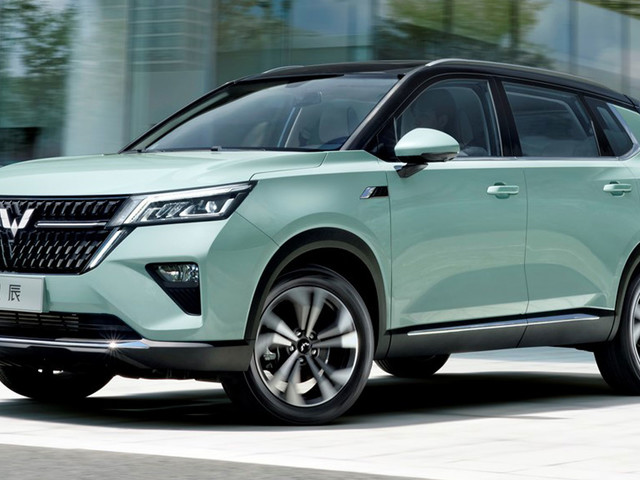 Wuling Launches New Asta Crossover In China