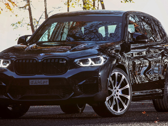 Dahler Gives 2020 BMW X3 M 601 HP, Turns It Into A Supercar Challenger