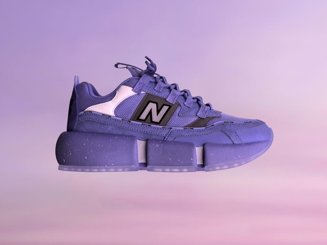 "Jaden Smith Created These ""Wavy Baby Blue"" Sneakers With New Balance From Recycled Materials"