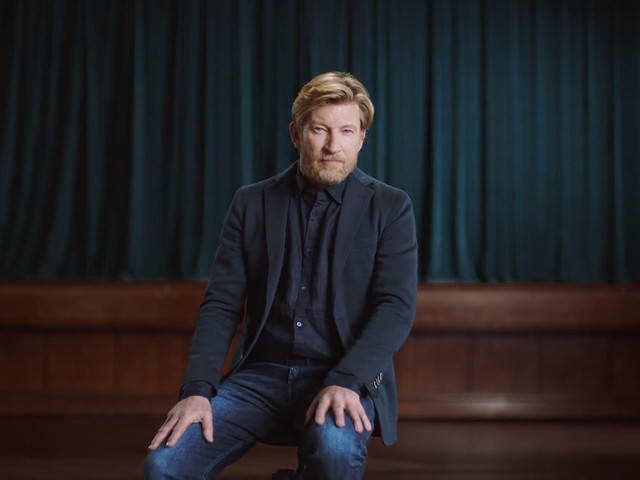 Actor David Wenham stars in ad for investment management business Pendal
