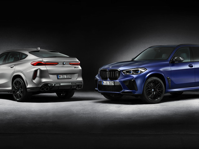 BMW X5 M And X6 M Competition First Editions Launched, Capped At 250 Units Each