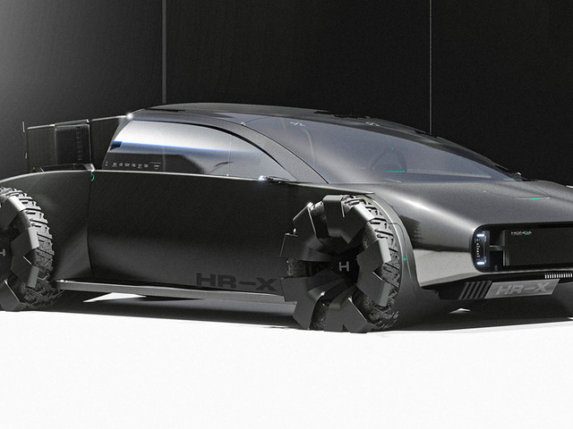 Honda 'HR-X Delsol' Design Proposal Is An Otherworldly Personal Electric Pick-up