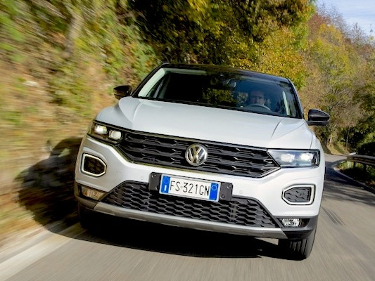 Italy May 2020: Registrations bounce back to -49.4%, VW T-Roc up to record 2nd place