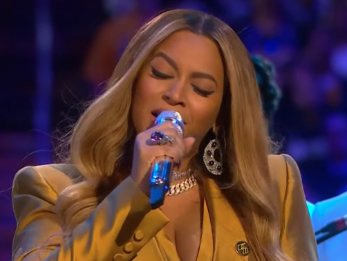 Watch Beyoncé Perform Two Songs At Kobe And Gianna Bryant's Memorial Service