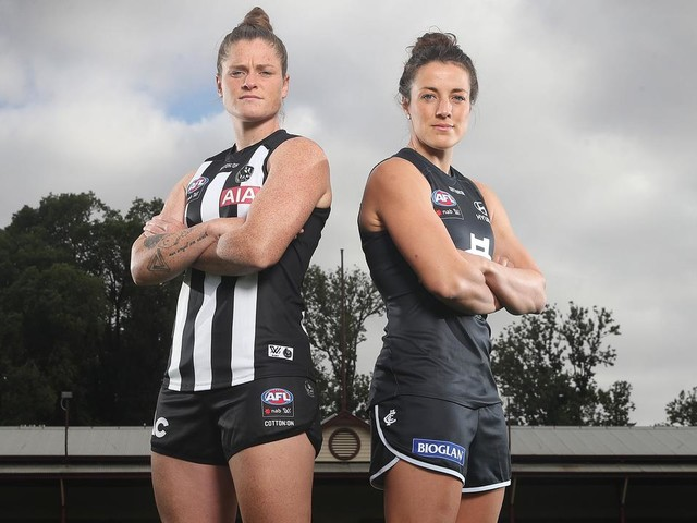 LIVE: Footy is back! Carlton and Collingwood to kick off, what looms as, the best AFLW season ever