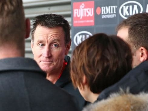 John Worsfold trades questions with journalists in a prickly press conference