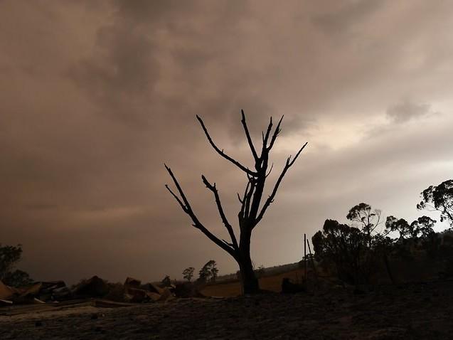 Heavy rain is posing a threat to fire-ravaged Victorian regions