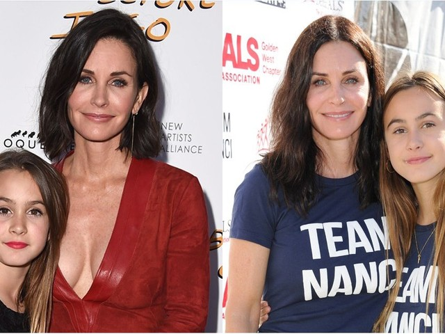 """20 Snaps of Courteney Cox and Her Daughter That Will Have You Asking, """"Where Did the Time Go?"""""""