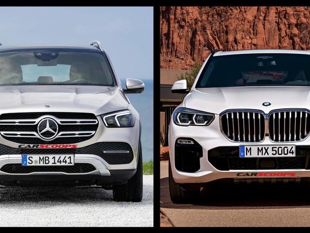 Mercedes GLE Vs BMW X5: A Tale Of Two Brand-New German Premium SUVs