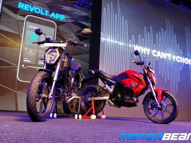 Revolt RV 400 Electric Bike Revealed
