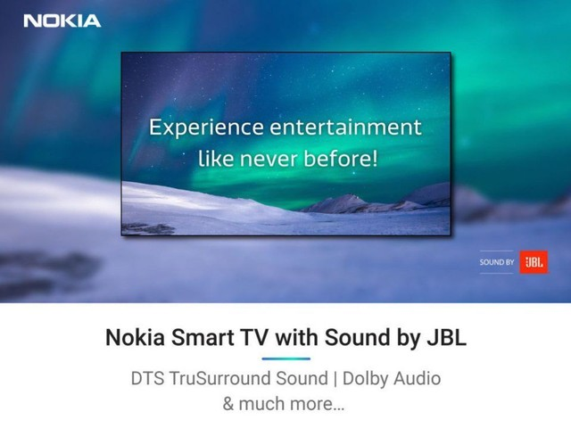 Nokia is set to unveil its first-ever Smart TV in India on December 5