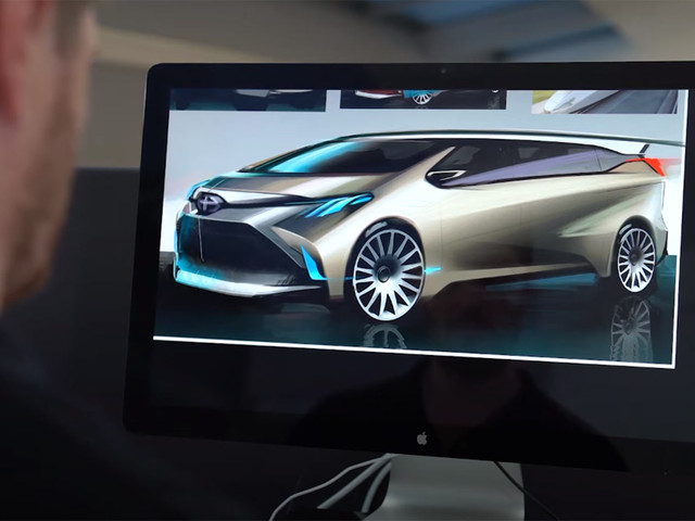 2021 Sienna Exemplifies Toyota's Bold Design Language
