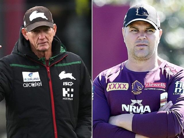 Broncos coach Anthony Seibold fires first shot as stats show Rabbitohs have regressed under Wayne Bennett