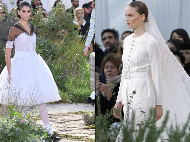 Kaia Gerber Was One of 19 Chanel Brides We Found on the Couture Runway