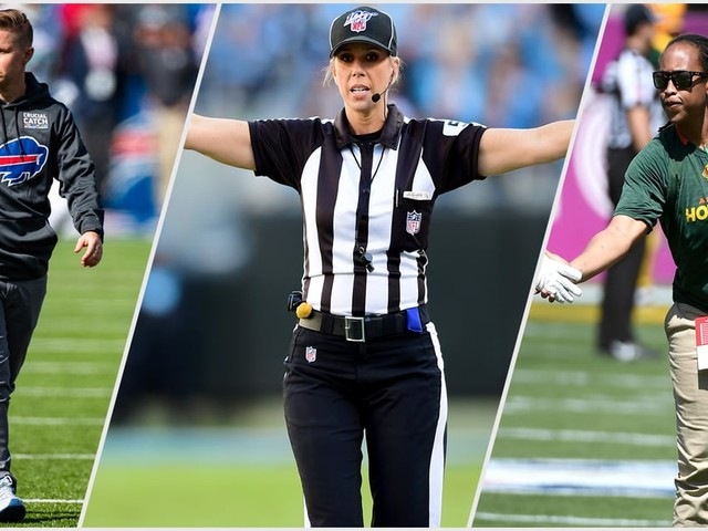 History Was Made in the NFL With 2 Women Coaching on the Sidelines and One Female Referee