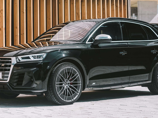 Audi SQ5 TDI Tries On ABT's Distinctive Suit, 385 HP Update