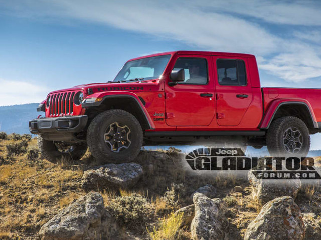 Jeep Gladiator 2020: Pics of Wrangler ute leaked
