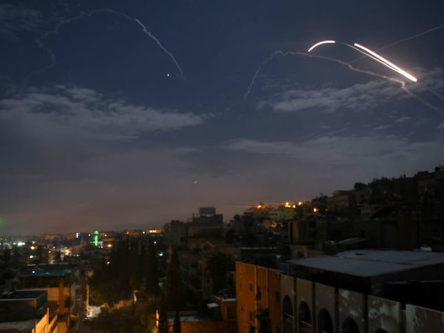 Israel says it struck Iranian targets in Syria in response to missile fire