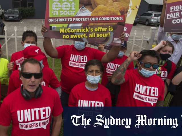 Maccas sauce makers go on strike as pay talks sour