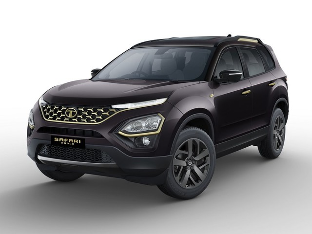 Tata Safari Gold Edition Launched, Priced From Rs. 21.90 Lakhs