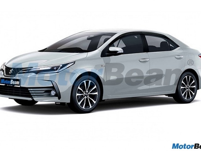 Maruti Corolla Altis Rendering – How Will It Look