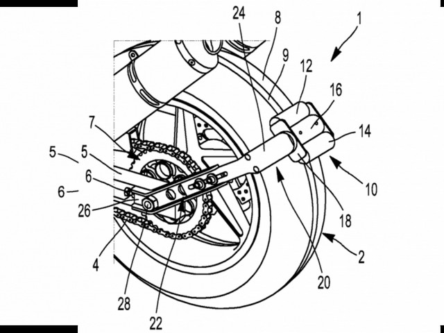 Michelin Patents Reversing Device For Motorcycles