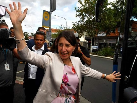 Berejiklian becomes first woman to win a NSW election, but minority government a possibility