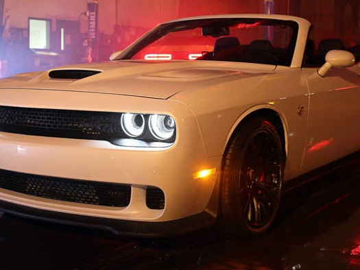 World's First Dodge Challenger Hellcat Convertible Costs $139,000 [w/Video]