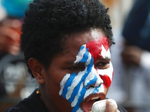 Hundreds of Papuans rally for independence from Indonesia