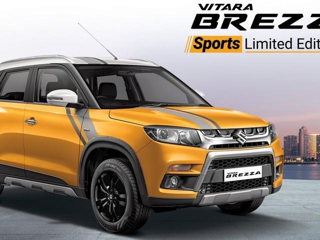 Maruti Vitara Brezza Sports Limited Edition Launched