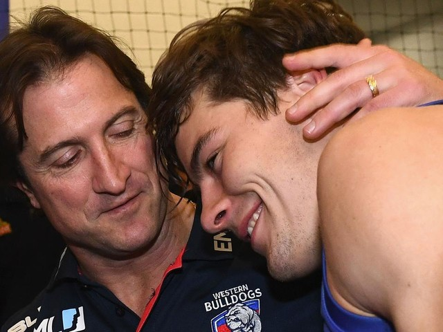 'I had to contain my emotions': Bulldogs coach reveals 'surprise' at Josh Dunkley's trade request