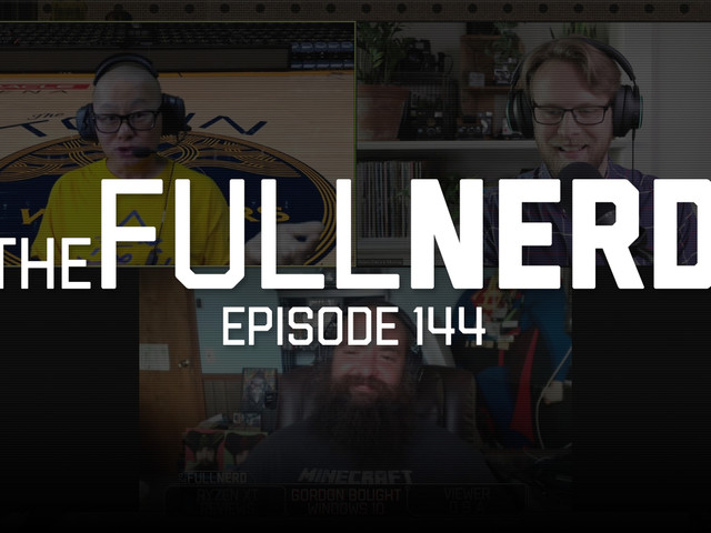 The Full Nerd ep. 144: Ryzen 3000 XT reviews, Gordon buys Windows 10 cheap, and a food fight