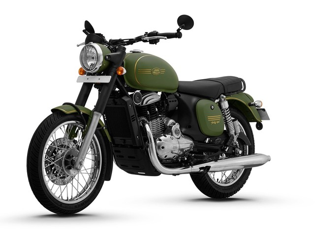 Here Is Why Jawa Bikes Lack A Rear Disc