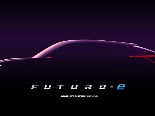 Maruti Suzuki Futuro-e SUV-Coupe Teased