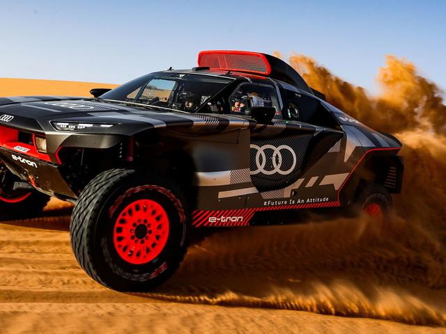 Audi's 2022 Dakar Rally Contender Arrives At The Moroccan Desert For Testing