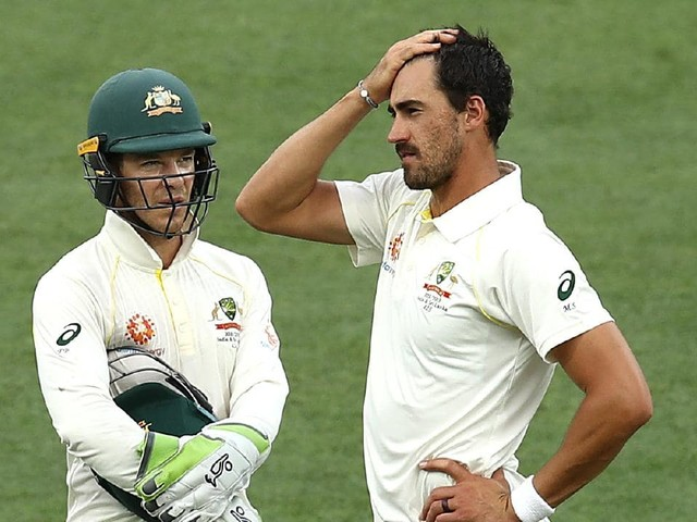 Australian captain Tim Paine backs Mitchell Starc to return to his best for second Test against India in Perth