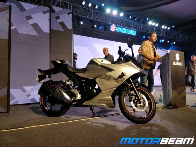 2019 Suzuki Gixxer SF Launched, Priced At Rs. 1.09 Lakhs