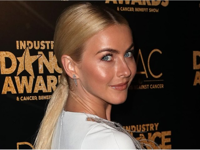 Julianne Hough Looks Completely Different With Her New Blunt Bob and Bangs