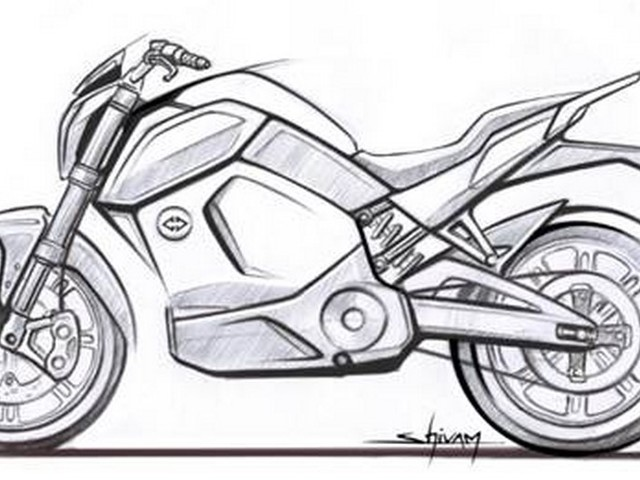 Revolt Electric Bike Revealed In Official Sketch