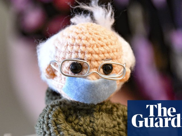 Crochet artist turns viral Bernie Sanders image into a doll that sells for $20,000