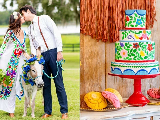 This Like Water For Chocolate-Inspired Wedding Shoot Is a Beautiful Ode to Mexican Culture