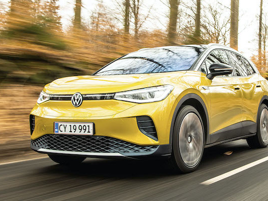 Denmark August 2021: VW ID.4 and ID.3 on podium, Audi Q4 in Top 10, market off -10%