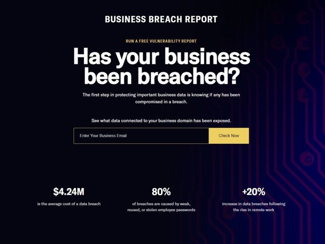 Dashlane launches new free service to help SMBs identify security risks