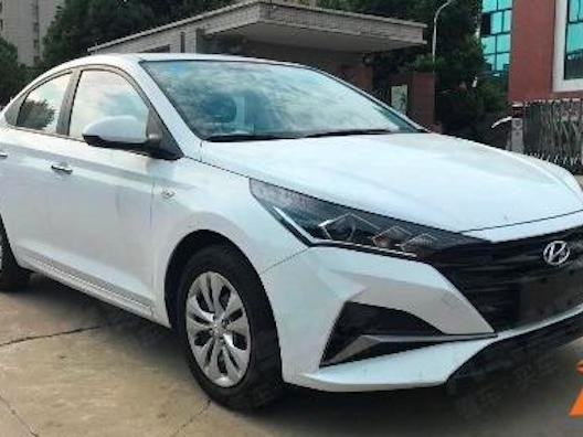 2020 Hyundai Verna Facelift Spied, India-Bound