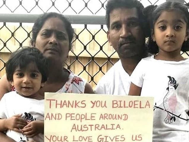 Three members of Tamil family from Biloela granted 12-month bridging visas