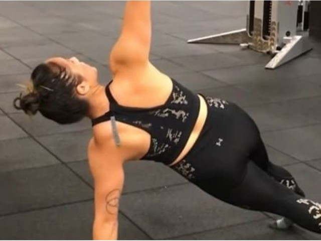 This Is My Favorite Upper-Body Workout to Do When I'm Short on Time