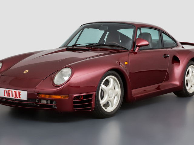 One Of A Kind Running And Driving Porsche 959 Prototype Found For Sale